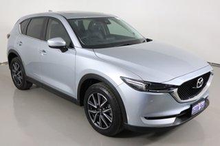 2017 Mazda CX-5 MY17.5 (KF Series 2) GT (4x4) Silver 6 Speed Automatic Wagon