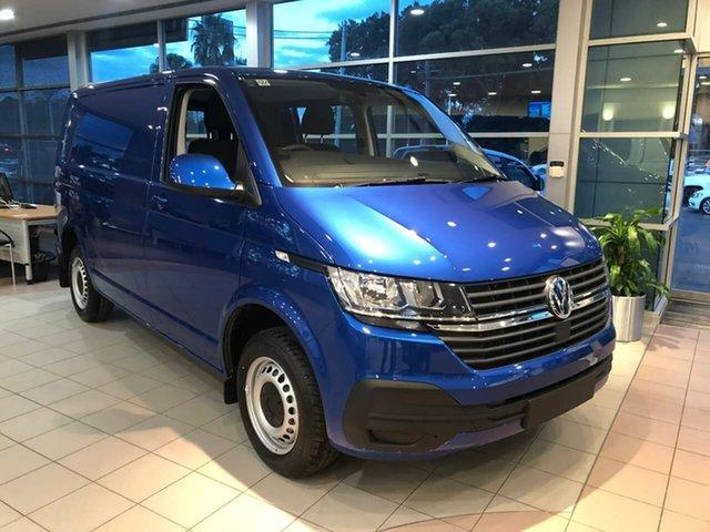 New Volkswagen Transporter T6.1 MY21 TDI340 SWB DSG Botany, 2021 Volkswagen Transporter T6.1 MY21 TDI340 SWB DSG Blue 7 Speed Sports Automatic Dual Clutch Van