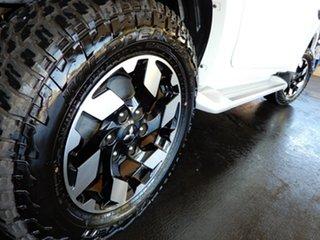 2017 Mitsubishi Triton MQ MY18 Exceed (4x4) White 5 Speed Automatic Dual Cab Utility