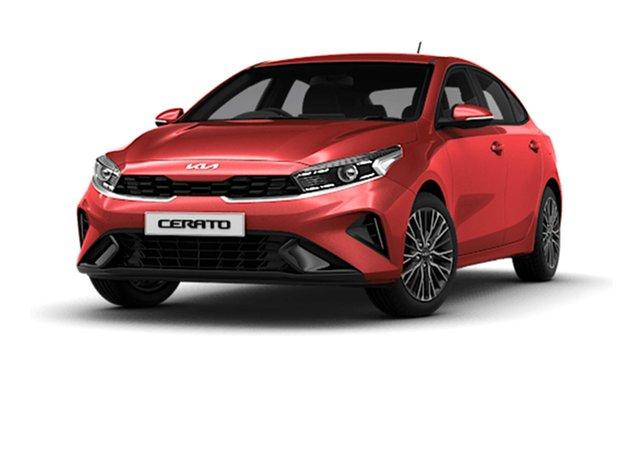 Demo Kia Cerato BD MY22 Sport Cardiff, 2021 Kia Cerato BD MY22 Sport Runway Red 6 Speed Sports Automatic Hatchback