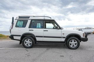 2002 Land Rover Discovery 03MY Td5 White 4 Speed Automatic Wagon.