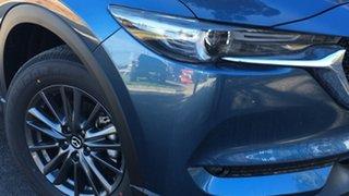 2021 Mazda CX-5 KF2W7A Maxx SKYACTIV-Drive FWD Sport Eternal Blue 6 Speed Sports Automatic Wagon.