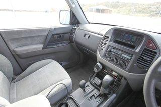 2001 Mitsubishi Pajero NM GLS Silver 5 Speed Sports Automatic Wagon.