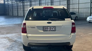 2010 Ford Territory SY MkII TS RWD Limited Edition White 4 Speed Sports Automatic Wagon.
