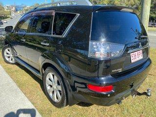 2009 Mitsubishi Outlander ZH MY10 VR-X Black 6 Speed Sports Automatic Wagon