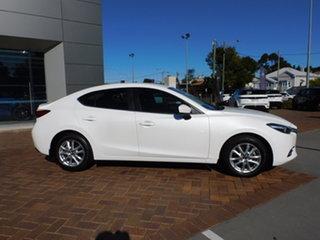 2019 Mazda 3 BN5278 Maxx SKYACTIV-Drive Sport Snowflake White 6 Speed Sports Automatic Sedan.