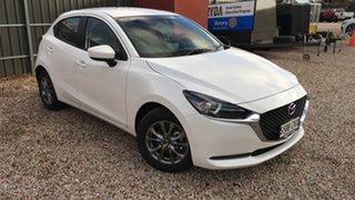 2021 Mazda 2 DJ2HAA G15 SKYACTIV-Drive Pure White Pearl 6 Speed Sports Automatic Hatchback.