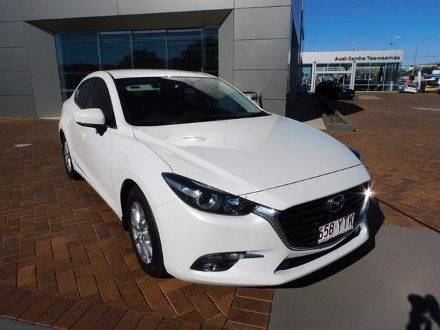 Used Mazda 3 BN5278 Maxx SKYACTIV-Drive Sport Toowoomba, 2019 Mazda 3 BN5278 Maxx SKYACTIV-Drive Sport Snowflake White 6 Speed Sports Automatic Sedan