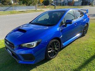 2017 Subaru WRX V1 MY18 STI AWD Blue 6 Speed Manual Sedan.