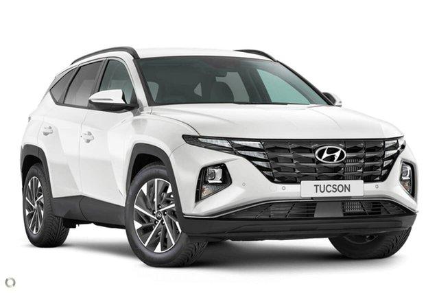 New Hyundai Tucson NX4.V1 MY22 Elite 2WD Oakleigh, 2021 Hyundai Tucson NX4.V1 MY22 Elite 2WD White 6 Speed Automatic Wagon