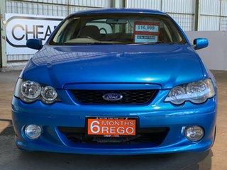 2003 Ford Falcon BA XR6 Turbo Blue 4 Speed Sports Automatic Sedan