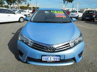 2015 Toyota Corolla ZRE172R Ascent S-CVT Blue 7 Speed Constant Variable Sedan.