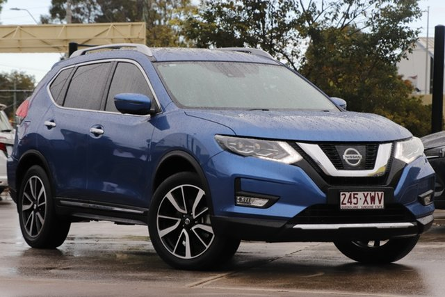 Used Nissan X-Trail T32 Series II TL X-tronic 4WD Bundamba, 2017 Nissan X-Trail T32 Series II TL X-tronic 4WD Marine Blue 7 Speed Constant Variable Wagon