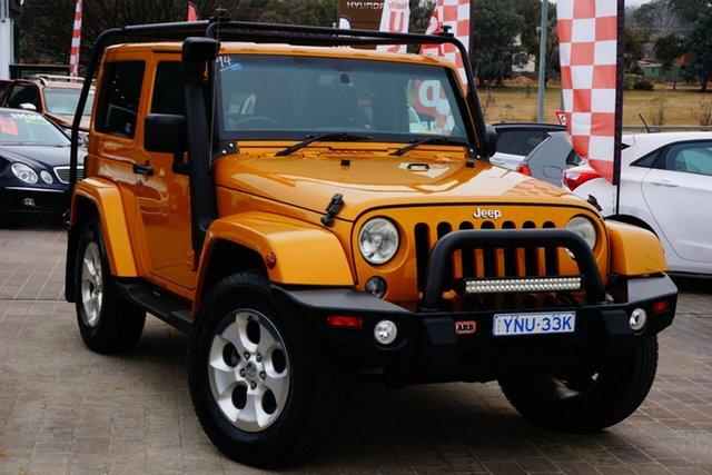 Used Jeep Wrangler JK MY2013 Overland Phillip, 2013 Jeep Wrangler JK MY2013 Overland Gold 5 Speed Automatic Hardtop