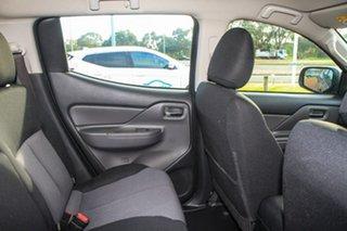 2018 Mitsubishi Triton MQ MY18 GLX+ Double Cab Grey 5 Speed Sports Automatic Utility