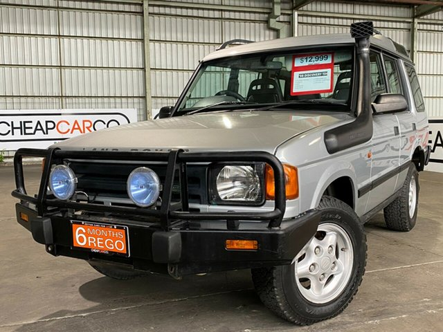 Used Land Rover Discovery TDI Rocklea, 1996 Land Rover Discovery TDI Silver 5 Speed Manual Wagon