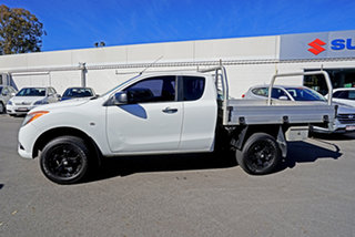 2013 Mazda BT-50 UP0YF1 XT Freestyle Cool White 6 Speed Manual Cab Chassis