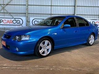2003 Ford Falcon BA XR6 Turbo Blue 4 Speed Sports Automatic Sedan.