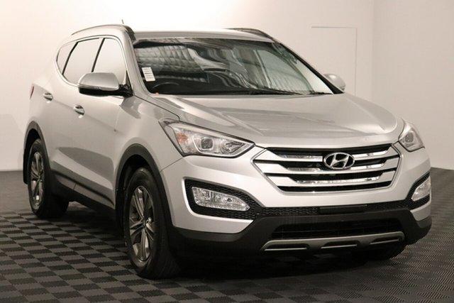Used Hyundai Santa Fe DM2 MY15 Active Acacia Ridge, 2015 Hyundai Santa Fe DM2 MY15 Active Silver 6 speed Automatic Wagon