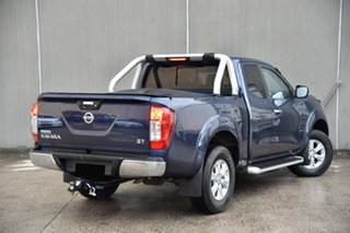 2015 Nissan Navara D23 ST King Cab Blue 6 Speed Manual Utility.