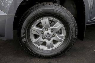 2015 Holden Colorado RG MY16 LS-X Crew Cab Grey 6 Speed Manual Utility.