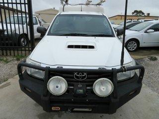 2015 Toyota Hilux KUN26R SR White 5 Speed Manual Extracab.