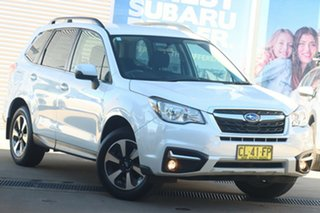 2017 Subaru Forester MY18 2.5I-L Crystal White Continuous Variable Wagon.