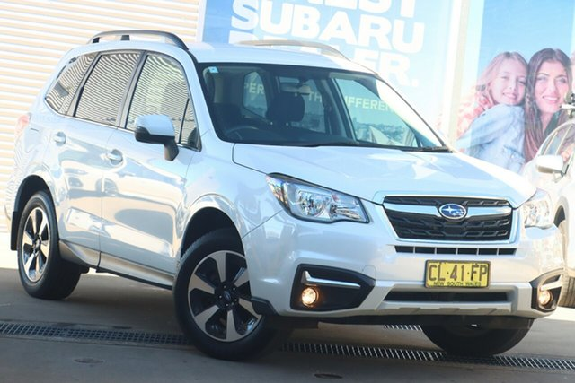 Used Subaru Forester MY18 2.5I-L Rosebery, 2017 Subaru Forester MY18 2.5I-L Crystal White Continuous Variable Wagon