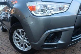 2012 Mitsubishi ASX XA MY12 (2WD) Grey 5 Speed Manual Wagon.