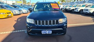 2013 Jeep Compass MK MY13 Limited CVT Auto Stick 6 Speed Constant Variable Wagon.