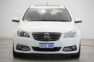 2014 Holden Calais VF MY14 V White 6 Speed Sports Automatic Sedan.