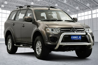 2015 Mitsubishi Challenger PC (KH) MY14 Brown 5 Speed Sports Automatic Wagon.