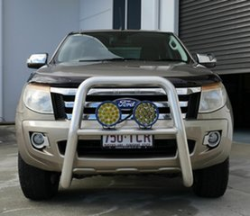 2013 Ford Ranger PX XLT Double Cab Gold 6 Speed Sports Automatic Utility.