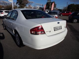 2007 Ford Falcon BF MkII 07 Upgrade XT White 4 Speed Auto Seq Sportshift Sedan.