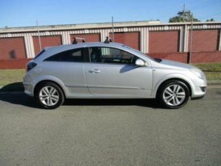 2007 Holden Astra AH MY07.5 CDX Silver 4 Speed Automatic Coupe.
