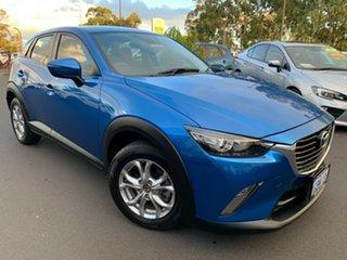 2016 Mazda CX-3 DK4W7A Maxx SKYACTIV-Drive i-ACTIV AWD Blue 6 Speed Sports Automatic Wagon.