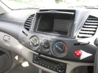 2007 Mitsubishi Triton ML MY08 GLX (4x4) White 5 Speed Manual 4x4 Cab Chassis