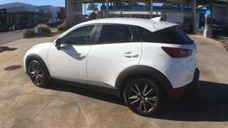 2015 Mazda CX-3 DK2W7A sTouring SKYACTIV-Drive Crystal White Pearl 6 Speed Sports Automatic Wagon