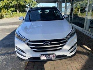 2017 Hyundai Tucson TL MY17 Active X 2WD Winter White 6 Speed Manual Wagon.