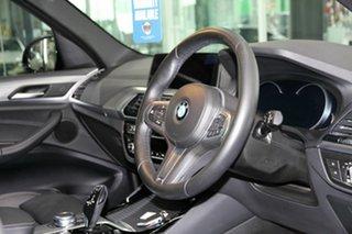 2018 BMW X3 G01 xDrive20d Steptronic Black 8 Speed Automatic Wagon.