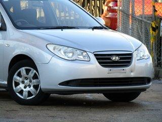 2007 Hyundai Elantra HD SLX Adventurine Silver 4 Speed Automatic Sedan.