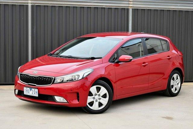 Used Kia Cerato YD MY16 S Pakenham, 2016 Kia Cerato YD MY16 S Red 6 Speed Sports Automatic Hatchback