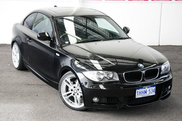 Pre-Owned BMW 125i E82 MY09 Myaree, 2010 BMW 125i E82 MY09 6 Speed Automatic Coupe