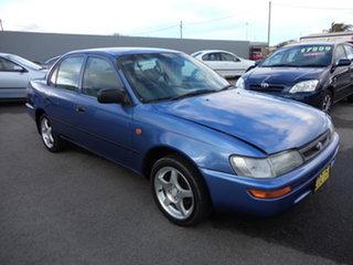 1996 Toyota Corolla AE102R Conquest Kepple Blue 4 Speed Automatic Sedan
