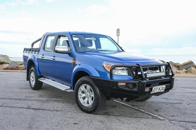 Used Ford Ranger PK XLT Crew Cab Lonsdale, 2010 Ford Ranger PK XLT Crew Cab Blue 5 Speed Manual Utility