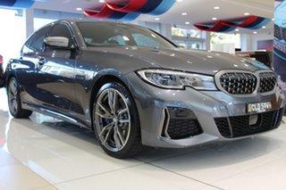 2020 BMW 3 Series G20 M340i Steptronic xDrive Mineral Grey 8 Speed Sports Automatic Sedan.