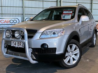2007 Holden Captiva CG MY08 LX AWD Silver 5 Speed Sports Automatic Wagon.