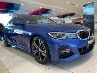 2020 BMW 3 Series G20 330i Steptronic M Sport Portimao Blue 8 Speed Sports Automatic Sedan.