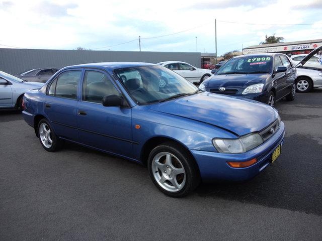 Used Toyota Corolla AE102R Conquest Wagga Wagga, 1996 Toyota Corolla AE102R Conquest Kepple Blue 4 Speed Automatic Sedan