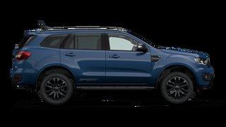 2021 Ford Everest UA II 2021.25MY Sport RWD Deep Crystal Blue 10 Speed Sports Automatic SUV.